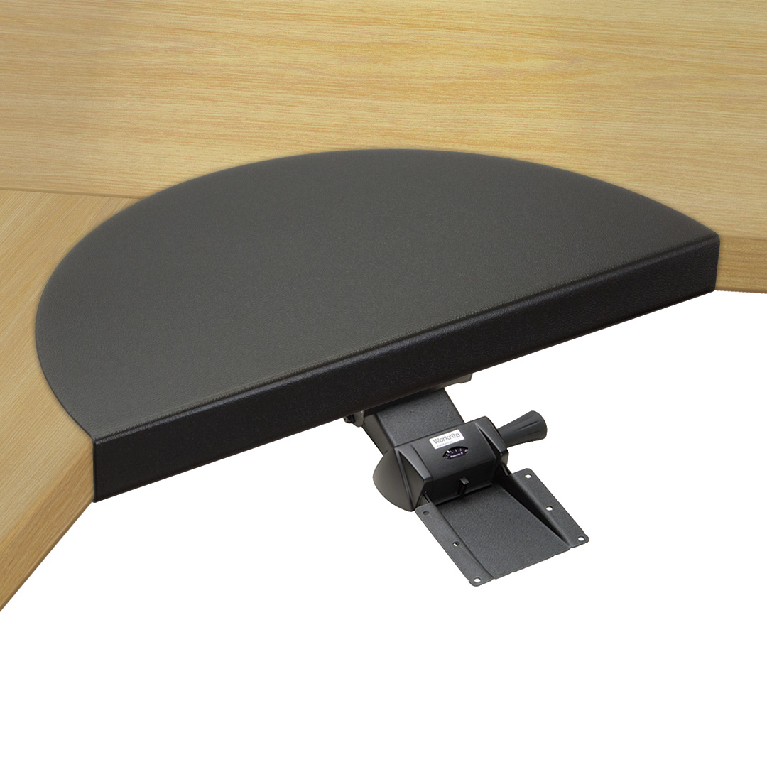 How To Add A Keyboard Tray To A Desk