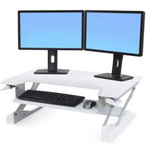 WorkFit-T Sit-Stand Desktop Workstation