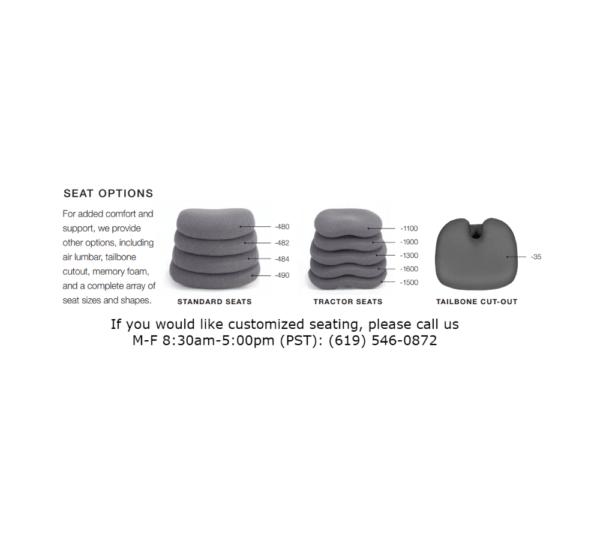 REI-8235-X-25A seat detail
