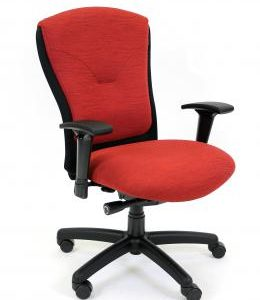Tuxedo Managers High Back Chair