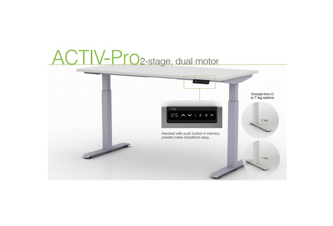 Adjustable Height Tables Pacific Ergonomics