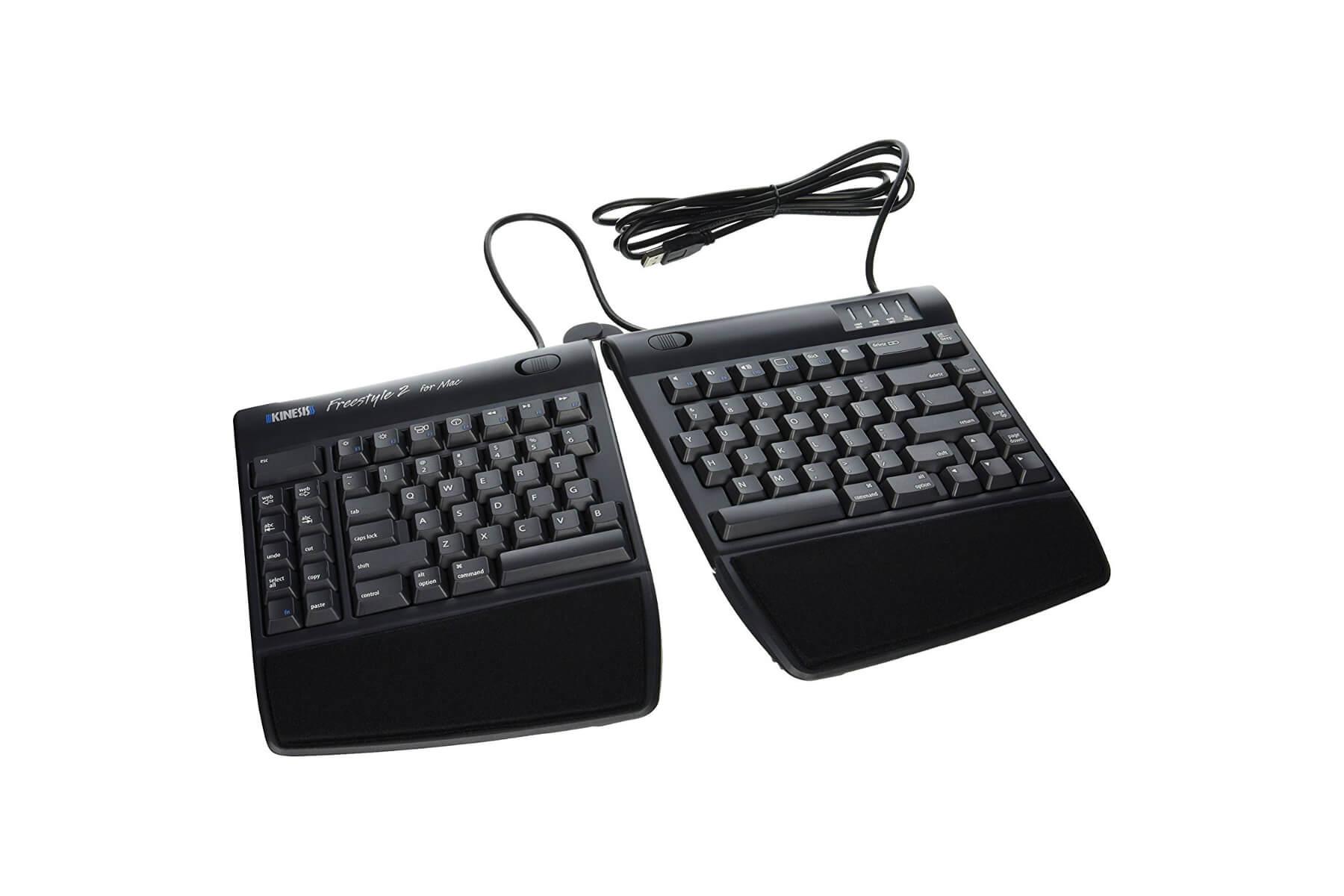 00e1c6cb9cc Kinesis Freestyle2 Keyboard w/ VIP3 Lifters (PC) | Pacific Ergonomics
