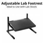 Lab stool footrests