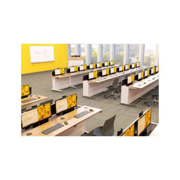 Height adjustable Line of Sight Workrite Training table
