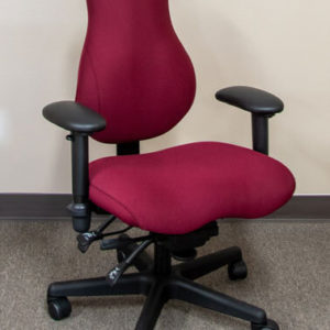 Sink into comfort with this petite task chair