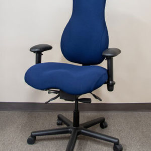 Tall ergonomic chairs like the Tranquility are ideal for tall people