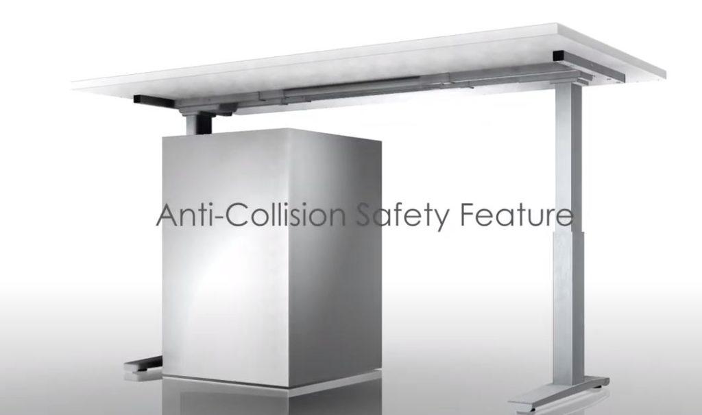 Anti-Collision Height Adjustable Table