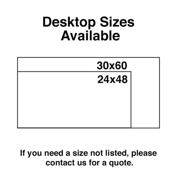 Desktop Sizes