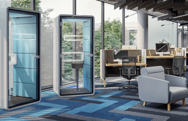 Visualize a phone pod in your office