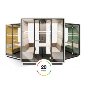 Hushwork meeting pod privacy