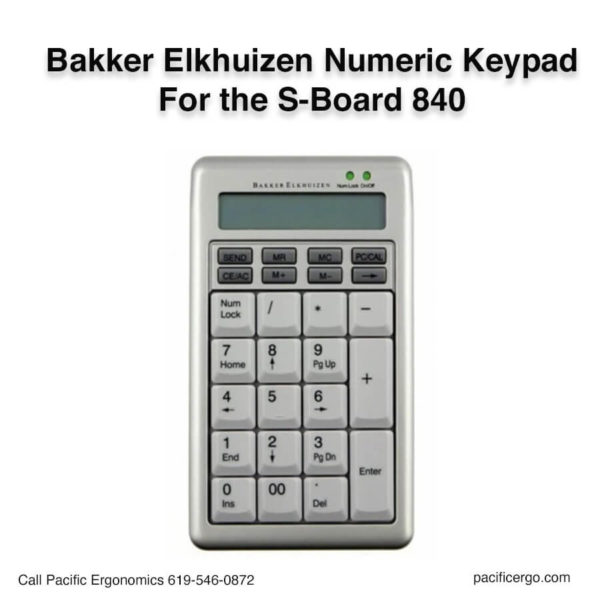 S-Board 840 Numeric Keypad