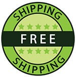 Free shipping on all products