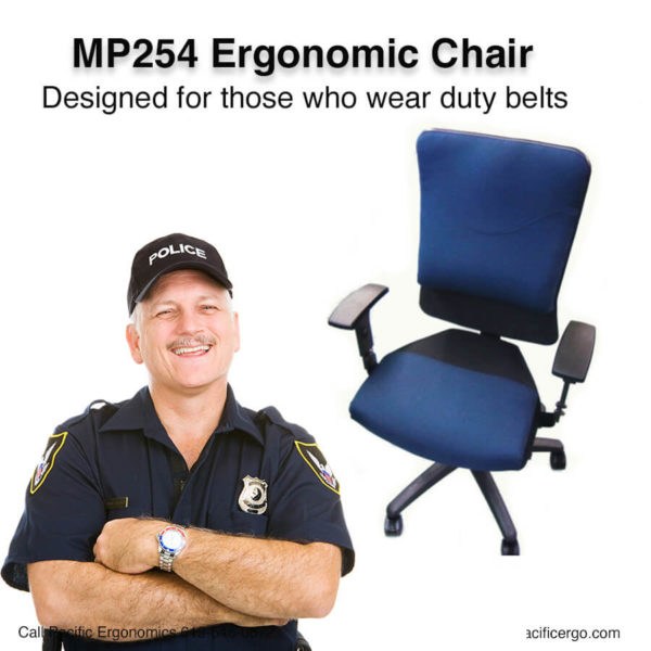 MP254 police chair