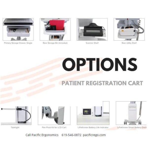 Mobile cart options