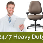 24 x7 heavy duty ergonomic task chairs in San Diego