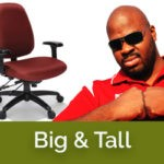 Big and tall ergonomic chairs