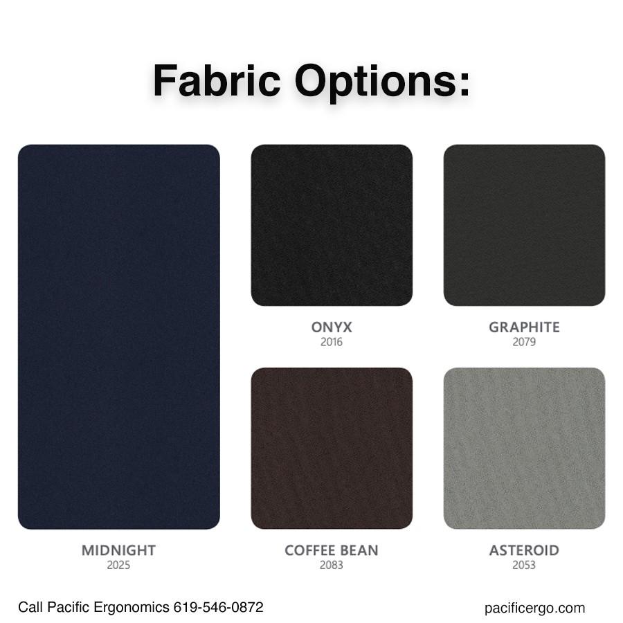 Control Room Fabric Options