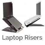 Laptop riser solutions