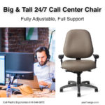 Big and Tall Call Center Chair in San Diego
