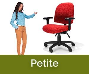 Petite Ergonomic Chairs