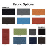 R6 & R8 Fabric Options