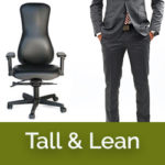 Tall ergonomic chairs