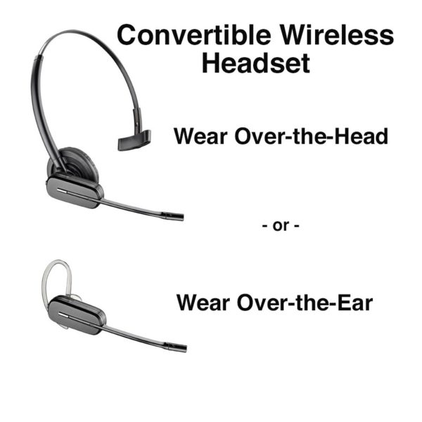 Plantronics Cs540 Wireless Headset W Handset Lifter Pacific Ergonomics