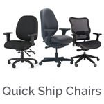 Quick ship office chairs in San Diego