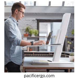 Humanscale Quickstand desk converter