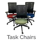 Commercial task chairs for a home office