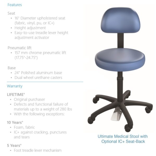 Ultimate Medical Stool Features