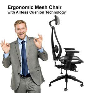 tCentric Hybrid Mesh Ergonomic Chair