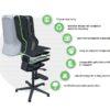 Neon lab stool has many benefits