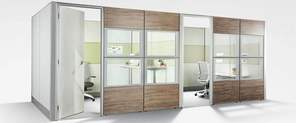 Social distancing with separate offices