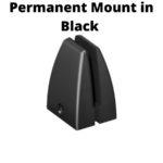 Permanent Mount in Black