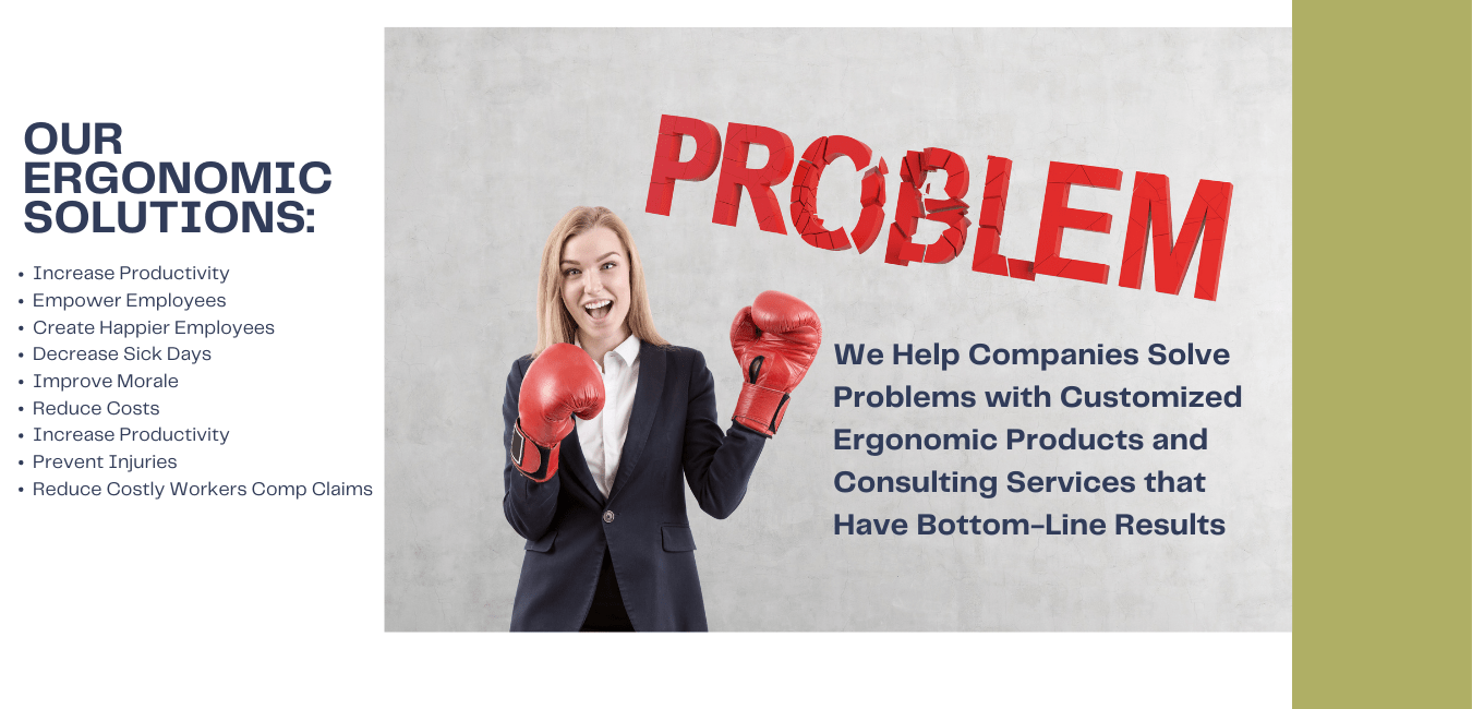 Ergonomic product and consulting services in San Diego, Los Angeles and Orange County