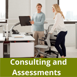 Consulting and Ergonomic Assessments in San Diego, La, Orange County and Riverside