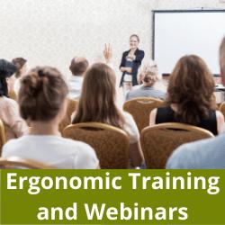 Ergonomic training and webinars