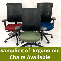 Ergonomic chairs in San Diego