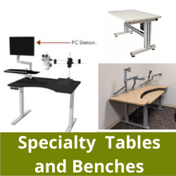 Specialty tables and benches