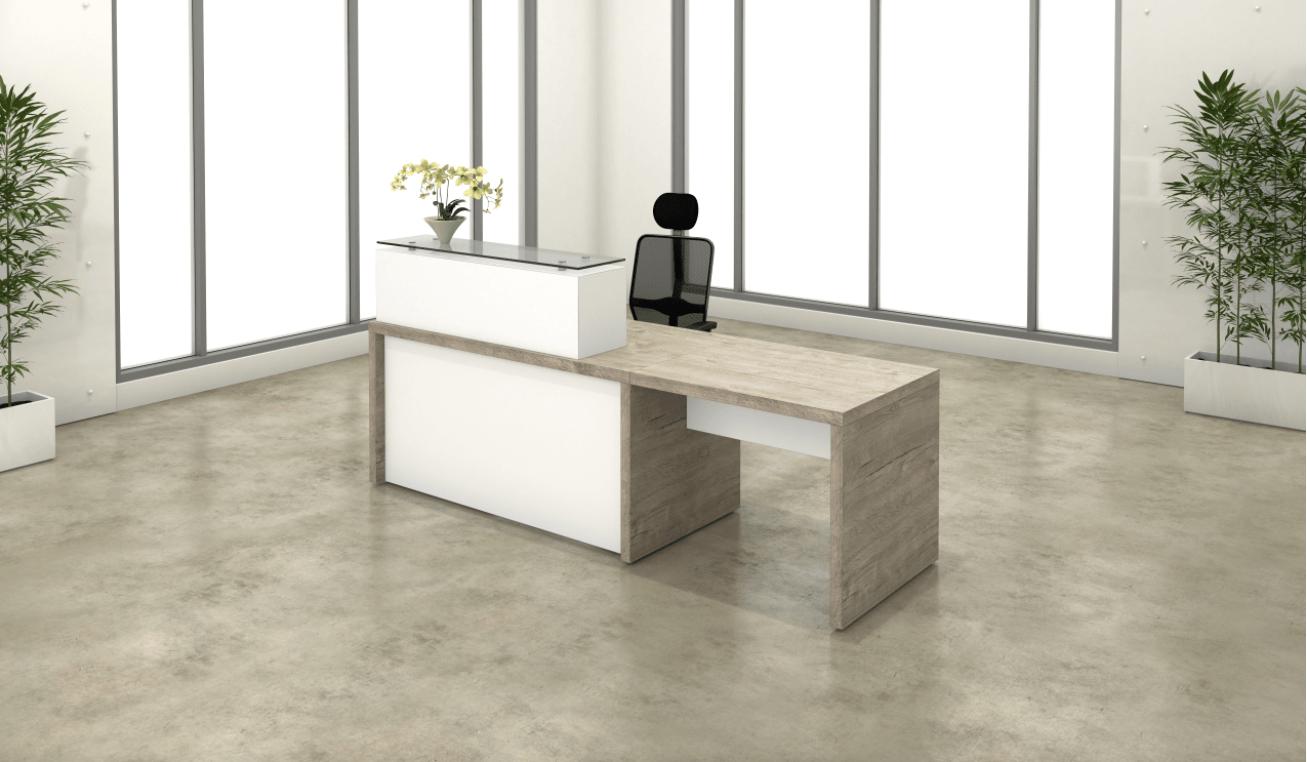 Low Profile desks for reception