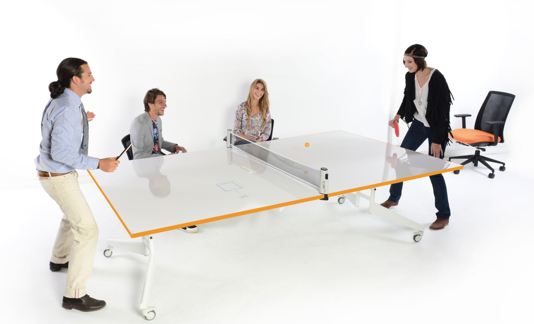 Office furniture fun to improve moralle
