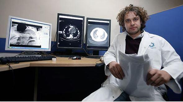 Height Adjustable Radiology Reading Room Tables