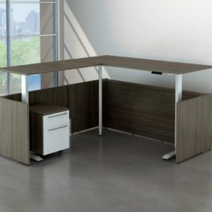 All purpose sit stand executive San Diego desk