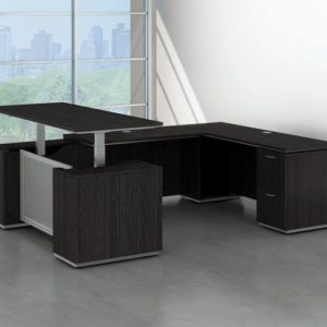 Executive U shaped Sit stand desk in san diego