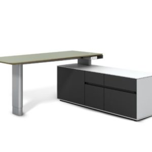 Vision modern executive sit stand executive desk in San Diego